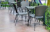 Mesa y silla — Foto de Stock