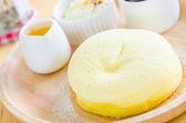 Cheese dessert — Stock Photo