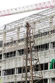 Edificio bajo construcción — Foto de Stock