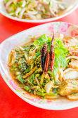 Pork spicy salad — Stockfoto