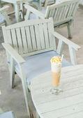 Cappuccino frappe — Stock Photo