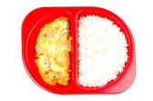 Omelets shrimp — Stock Photo
