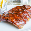 Barbecue pork spareribs — Stock Photo #35157913