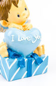 A toy with words I love you — Stock Photo