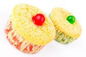 Vanilla Cupcake — Стоковое фото