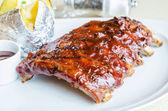 Barbecue pork spareribs — Stock Photo