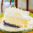 White cheese cake — Stock Photo