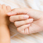 Baby hand — Stock Photo #35484693