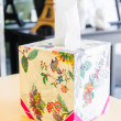 Tissue box — Stockfoto