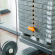 Weight plates — Stockfoto #35495453