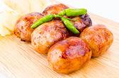 Thai sausage — Stock Photo