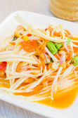 Salad papaya — Stock Photo