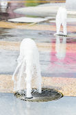 Fontanny wody — Zdjęcie stockowe