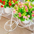Fake flowers — Stock Photo