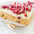 Cranberry cake — Stock Photo