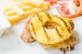 Chicken steak — Stock Photo