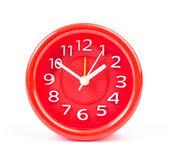 赤い時計 — ストック写真