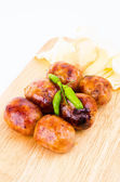 Thai wurst — Stockfoto