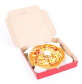 Pizza box — Stock Photo