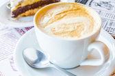Hot latte — Stock Photo