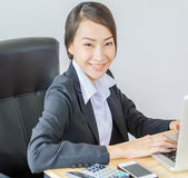 Business women smile — Foto Stock