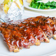 Barbecue pork spareribs — Stock Photo #36823027