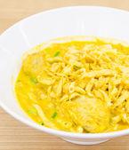 Thai Noodle Curry Soup — Foto Stock