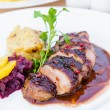 Stock Photo: Duck breast