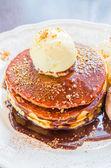 Icecream pancake — Stock fotografie