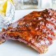 Barbecue pork spareribs — Stock Photo #37217301