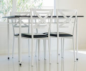 Table chair dining — Stock fotografie