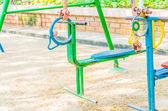 Playground swing — Stock Photo