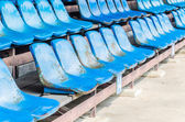 Empty stadium seats — Stock Photo