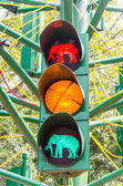 Traffic light signal — Stockfoto