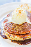 Icecream pancake — Stockfoto