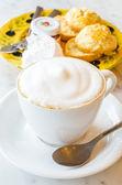 Cappuccino — Stock Photo