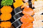 Smaczne sushi — Zdjęcie stockowe