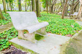 Bench in the park — Foto de Stock