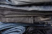 Džíny textura — Stock fotografie
