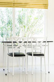 Table chair dining — Stock Photo