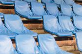 Leeg stadion zitplaatsen — Stockfoto