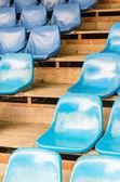 Asientos del estadio vacío — Foto de Stock