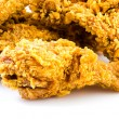 Stock Photo: Crispy fried chicken