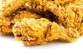 хрустящая жареная курица — Стоковое фото