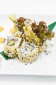 Sesame sushi — Stock Photo