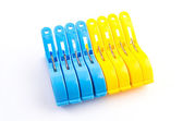Clothespin clips — Stock Photo
