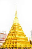 Emerald temple in Thailand — Stock Photo