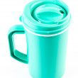 Plastic mug — Stock Photo