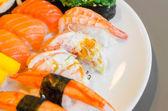 Sushi japanese food — Stock Photo