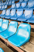 Empty stadium seats — Stock fotografie